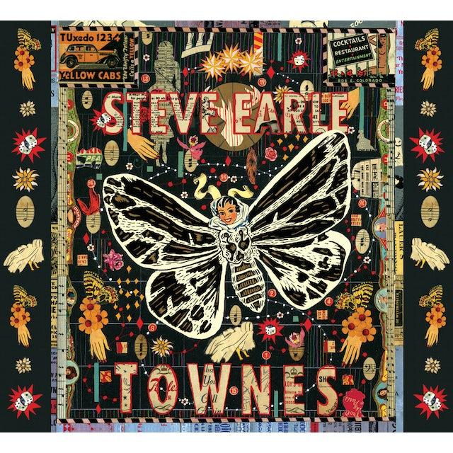 Steve Earle & The Dukes TOWNES Vinyl Record