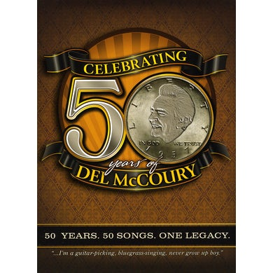CELEBRATING 50 YEARS OF DEL MCCOURY CD