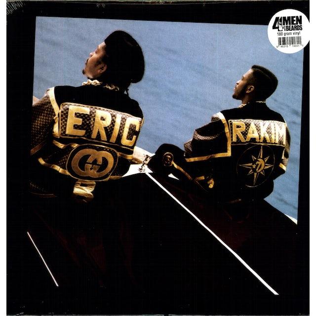 Eric B & Rakim FOLLOW THE LEADER Vinyl Record