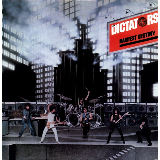 Dictators MANIFEST DESTINY Vinyl Record