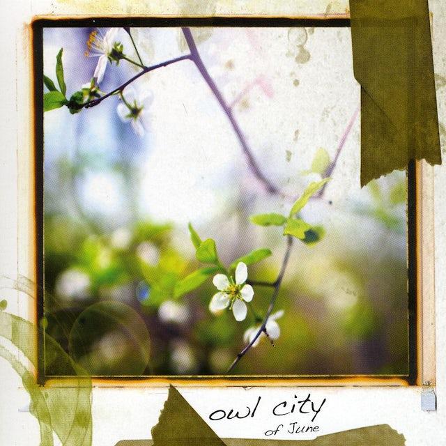 Owl City OF JUNE CD