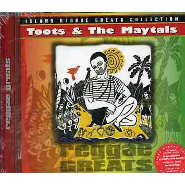 Toots & Maytals REGGAE GREATS CD