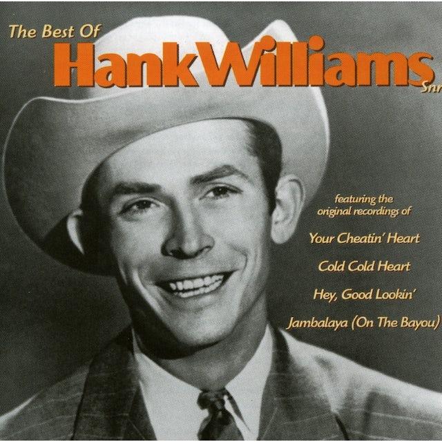 Hank Williams Sr BEST OF CD