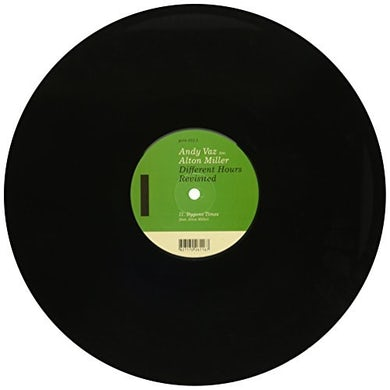 Andy Vaz DIFFERENT HOURS REVISITED Vinyl Record