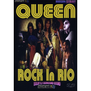 Queen ROCK IN RIO DVD