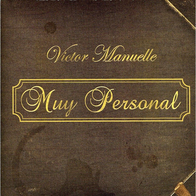 Victor Manuelle MUY PERSONAL CD