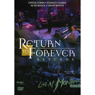 Return To Forever LIVE AT MONTREUX 2008 DVD