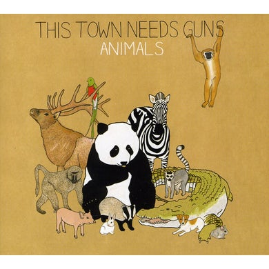 This Town Needs Guns ANIMALS CD