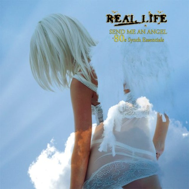 Real Life SEND ME AN ANGEL: 80S SYNTH ESSENTIALS Vinyl Record