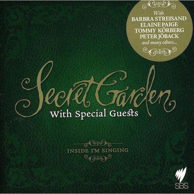 Secret Garden WITH FRIENDS: INSIDE I'M SINGING CD