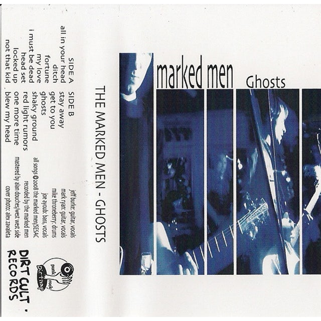 Marked Men GHOSTS Vinyl Record