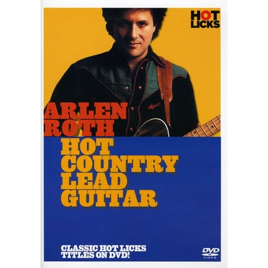 HOT COUNTRY LEAD GUITAR DVD