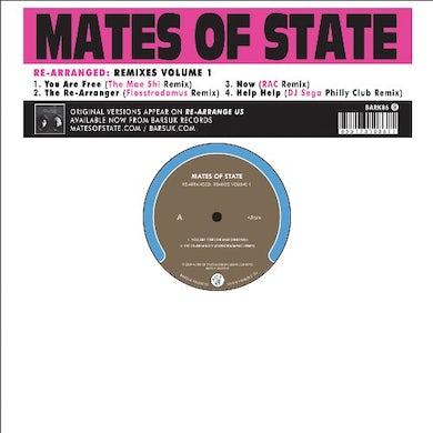 Mates Of State RE-ARRANGED: REMIXES 1 Vinyl Record