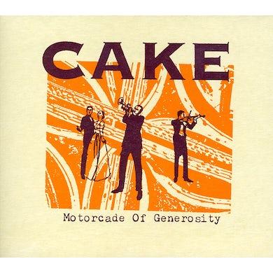 Cake MOTORCADE OF GENEROSITY CD