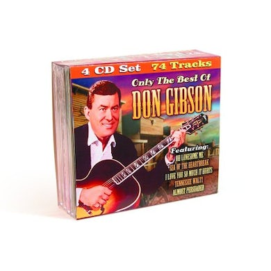 ONLY THE BEST OF DON GIBSON CD