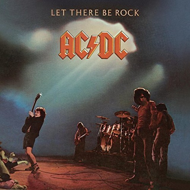 AC/DC LET THERE BE ROCK Vinyl Record