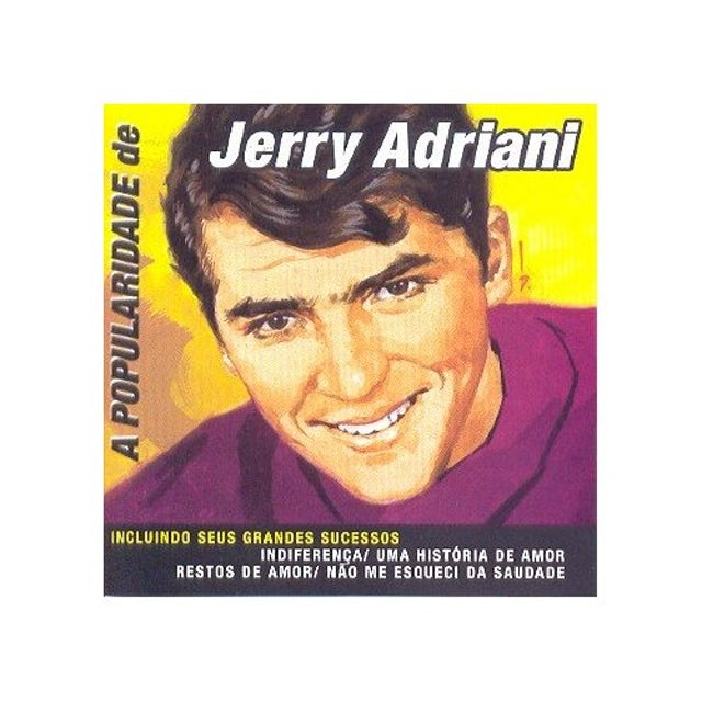 Jerry Adriani POPULARIDADE CD