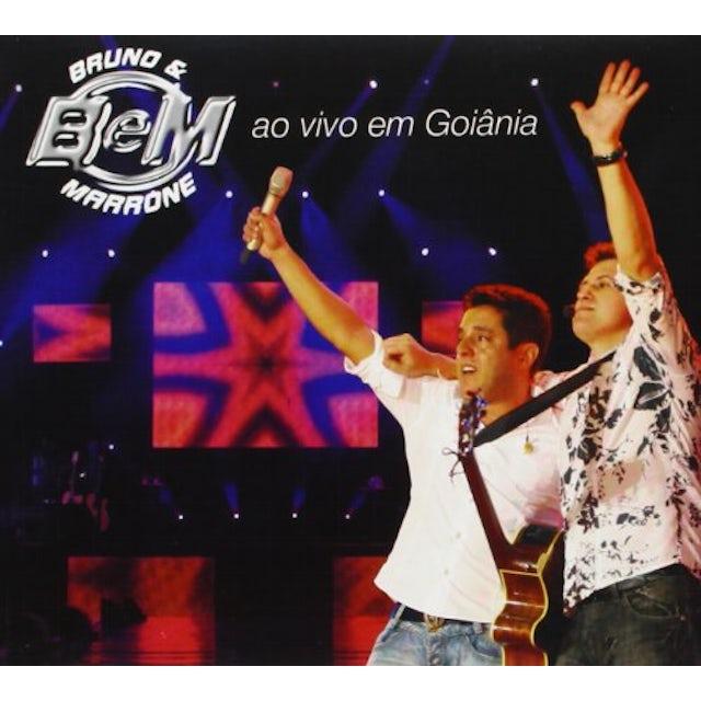 Bruno & Marrone AO VIVO EM GOIANIA CD