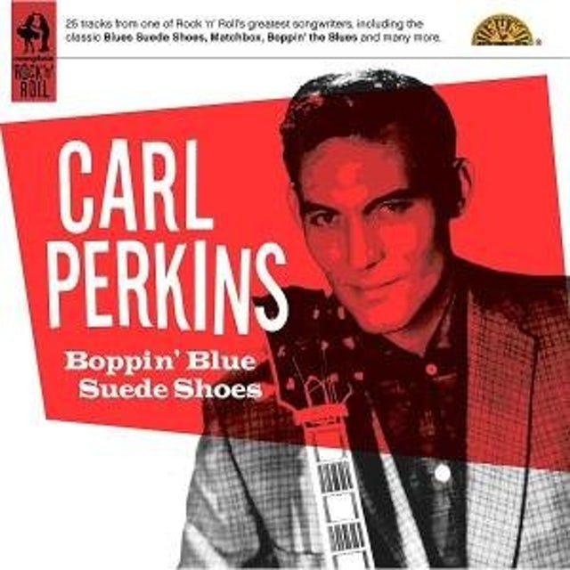 Carl Perkins BOPPIN BLUE SUEDE SHOES CD