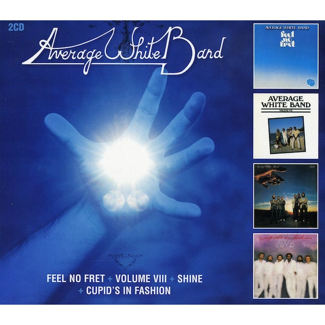 Average White Band FEEL NO FRET / VOLUME 8 / SHINE / CUPIDS IN FASHIO CD