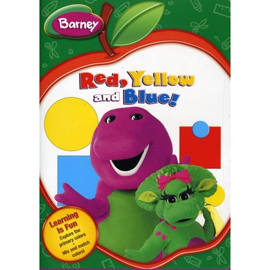 RED YELLOW & BLUE: BACK TO SCHOOL DVD
