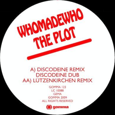 Whomadewho PLOT 2 (DISCODEINE & LUTZENKIRCHEN REMIXES) Vinyl Record