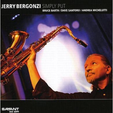 Jerry Bergonzi SIMPLY PUT CD