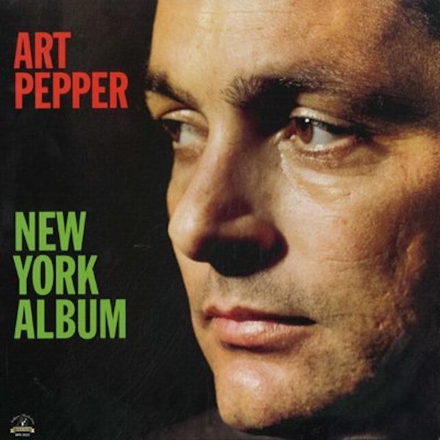 Art Pepper NEW YORK ALBUM Vinyl Record - 180 Gram Pressing