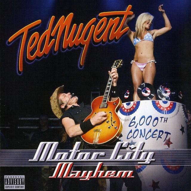 Ted Nugent MOTOR CITY MAYHEM: 6,000TH CONCERT CD
