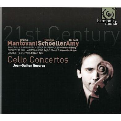 Jean-Guihen Queyras 21ST CENTURY CELLO CONCERTOS: MUSIC OF MANTOVANI CD