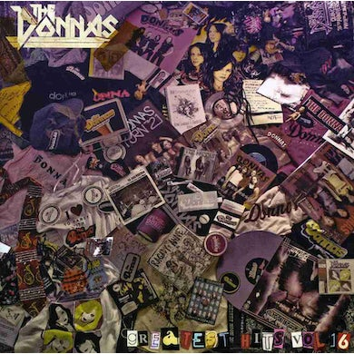Donnas GREATEST HITS 16 CD