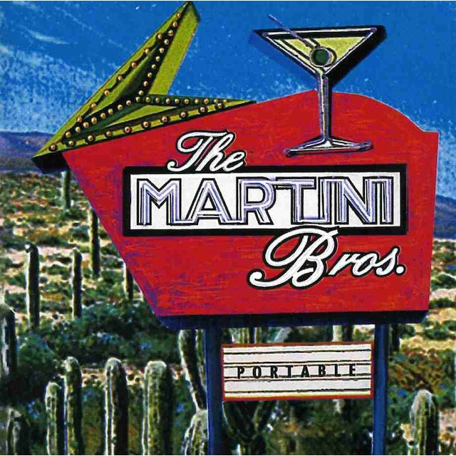 Martini Bros PORTABLE CD