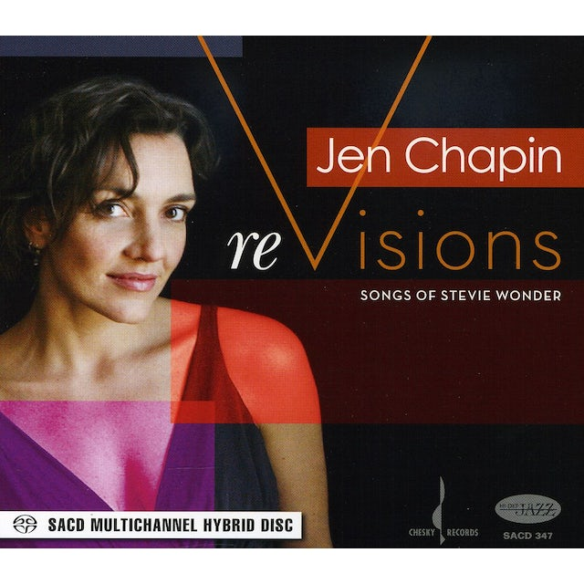 Jen Chapin REVISIONS: THE SONGS OF STEVIE WONDER CD