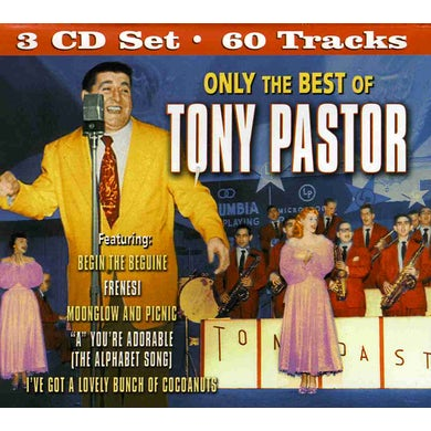 ONLY THE BEST OF TONY PASTOR CD