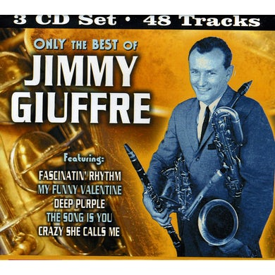 ONLY THE BEST OF JIMMY GIUFFRE CD
