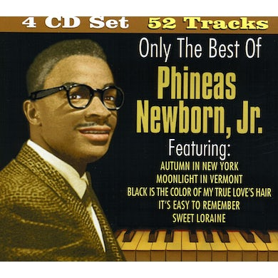 ONLY THE BEST OF PHINEAS NEWBORN CD