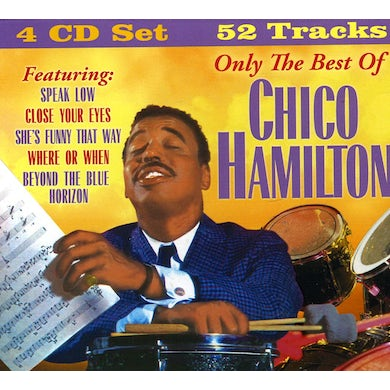 ONLY THE BEST OF CHICO HAMILTON CD