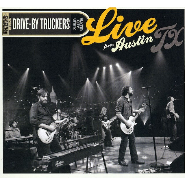 Drive-By Truckers LIVE FROM AUSTIN TEXAS CD