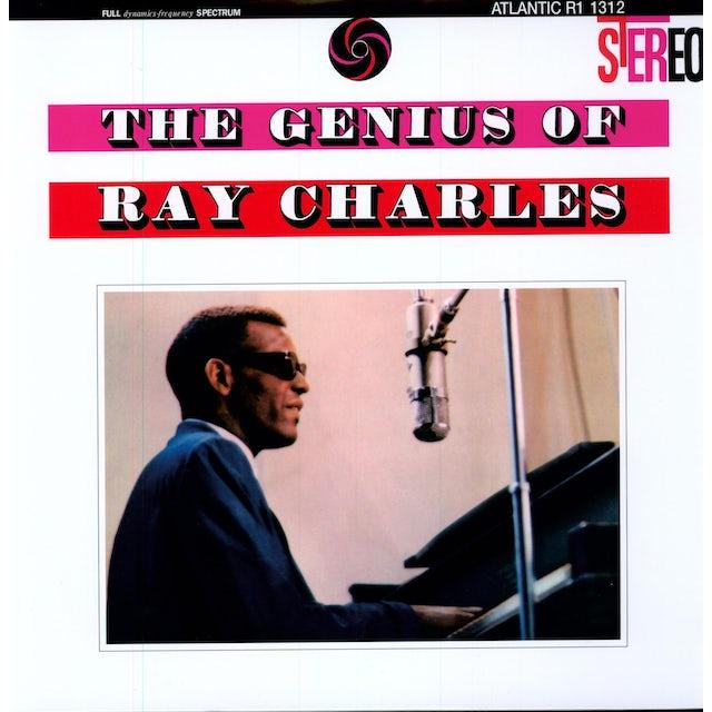 GENIUS OF RAY CHARLES Vinyl Record - Remastered, 180 Gram Pressing