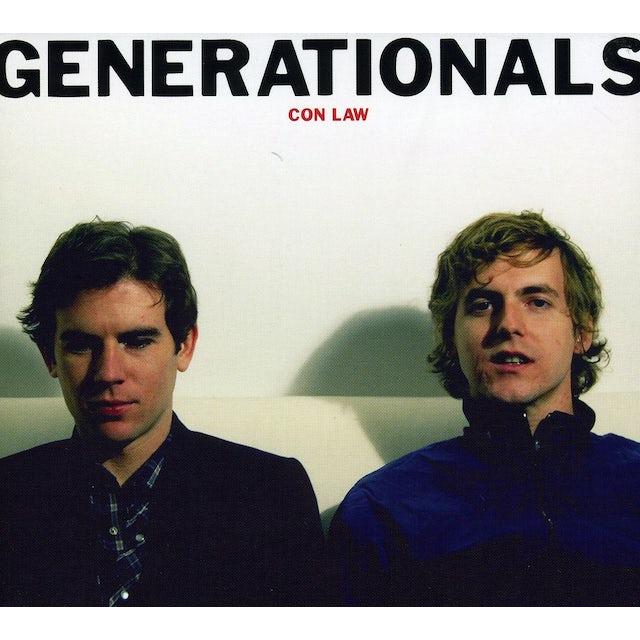 Generationals CON LAW CD