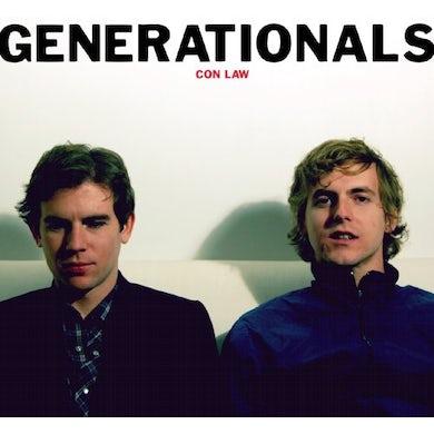 Generationals CON LAW (Vinyl)