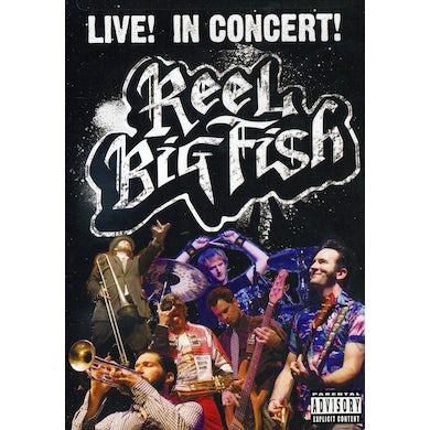 Reel Big Fish LIVE IN CONCERT DVD