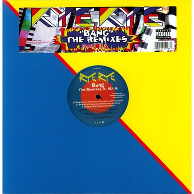 Rye Rye BANG (X6) Vinyl Record - Remixes