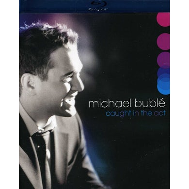 Michael Buble CAUGHT IN THE ACT Blu-ray