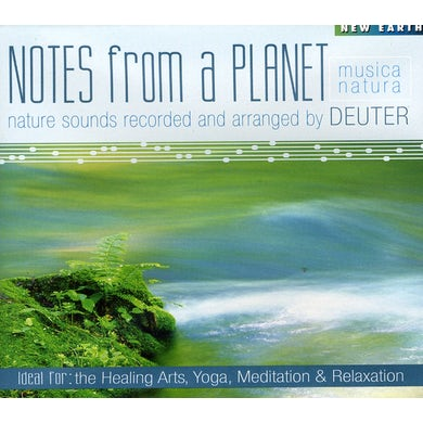 Deuter NOTES FROM A PLANET CD
