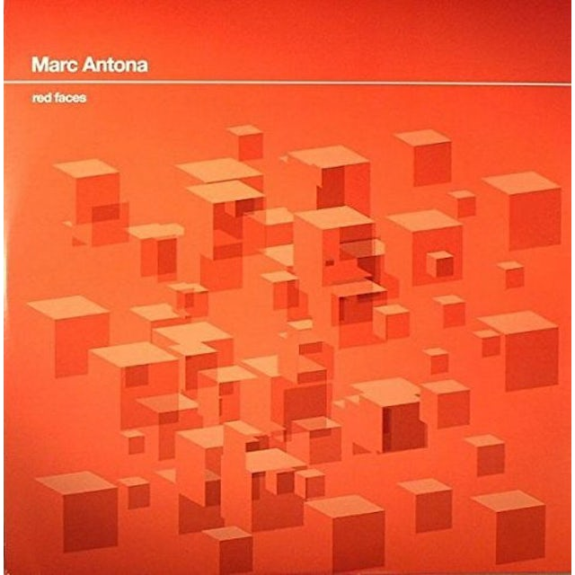 Marc Antona RED FACES Vinyl Record