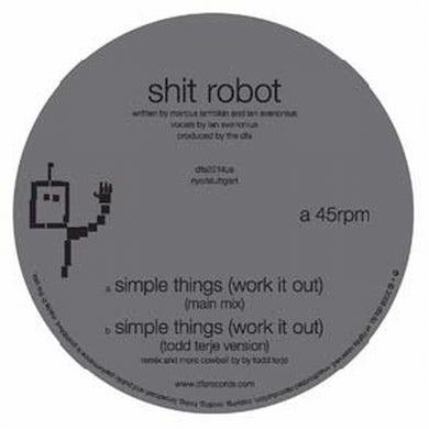 Shit Robot SIMPLE THINGS Vinyl Record