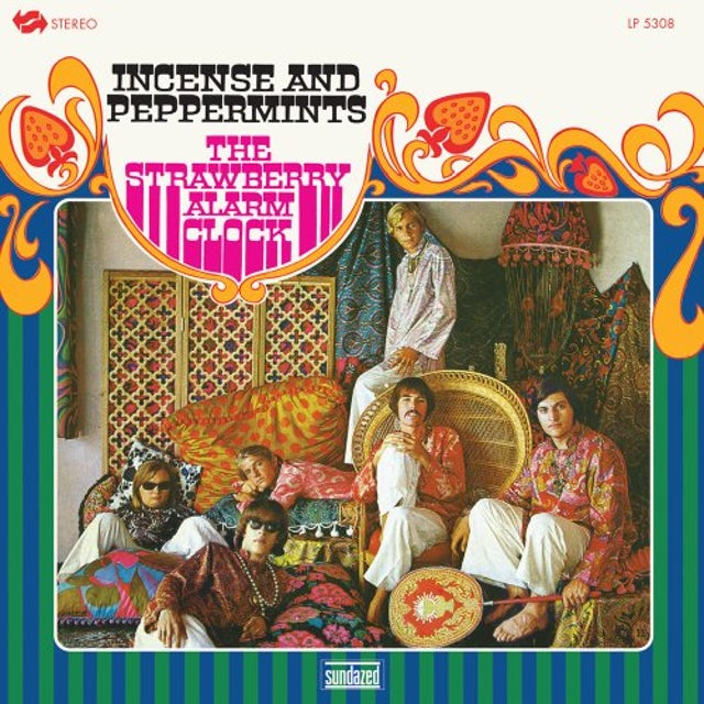 Strawberry Alarm Clock INCENSE & PEPPERMINTS Vinyl Record
