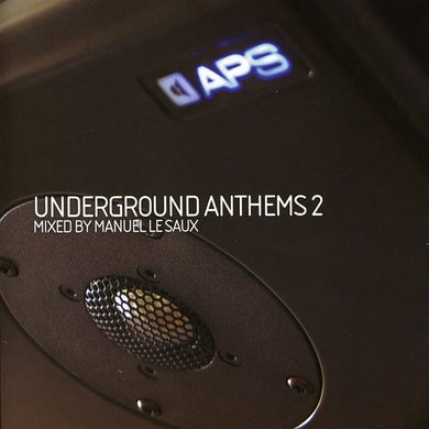 Manuel Le Saux UNDERGROUND ANTHEMS 2 CD