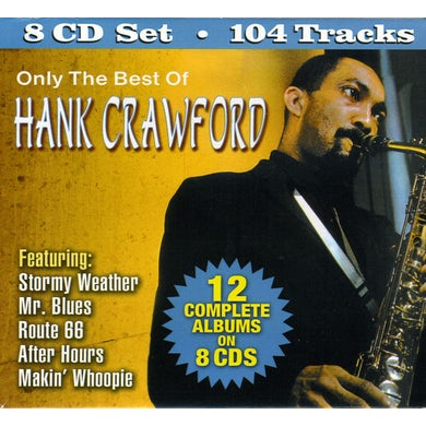 ONLY THE BEST OF HANK CRAWFORD CD